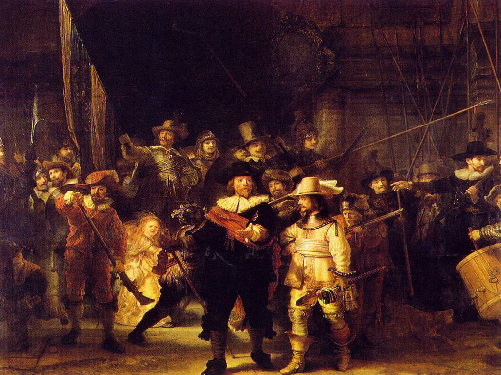 Rembrandt_Harmenszoon_Van_ Rijn_Night_watch_1642