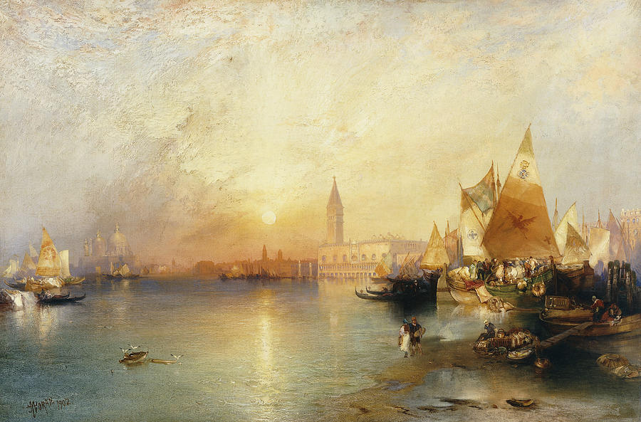 sunset-venice-thomas-moran
